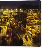 Hong Kong Container Terminal, One Canvas Print