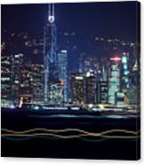 Hong Kong Harbor Canvas Print