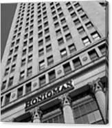 Honigman Fashion - Downtown Detroit Canvas Print