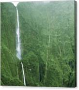 Honokohau Falls Canvas Print