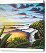 Honolua Bay Canvas Print