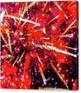 Honolulu Fireworks Canvas Print