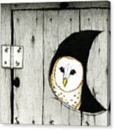 Hoo Tooted Canvas Print