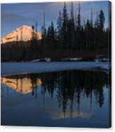 Hood Alpenglow Canvas Print