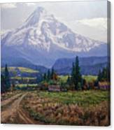 Hood River Valley Canvas Print