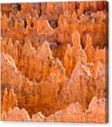 Hoodoos And Other Eroded Cliffs Light Canvas Print