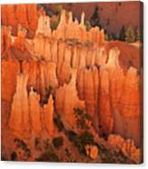 Hoodoos At Sunrise Bryce Canyon National Park Utah Canvas Print