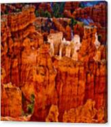 Hoodoos Bryce Canyon Canvas Print
