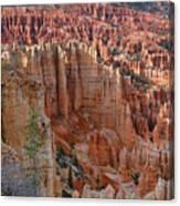 Hoodoos Bryce Canyon-utah Canvas Print