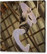 Hook And Pulley Canvas Print