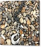 Hook, Chain And Pebbles Canvas Print