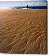 Ho'okahi - A Stroll Along A Beach Canvas Print