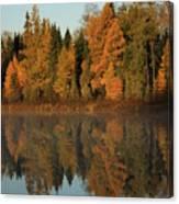 Hooker Lake Reflections Canvas Print