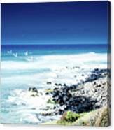 Hookipa Blue Sensation Canvas Print