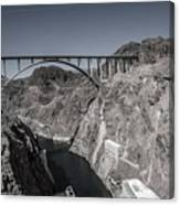 Hoover Dam Bridge Canvas Print