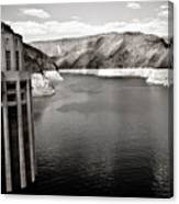 Hoover Dam Intake Towers #2 Canvas Print