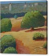 Hoover Tower In Sight Canvas Print