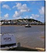 Hope Appledore Devon Canvas Print
