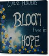 Hope Blossoms Canvas Print