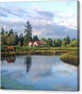 Hope Is Not A Dream - Hope Valley Art Canvas Print