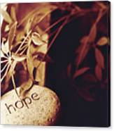 Hope Stone 1 Canvas Print