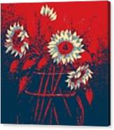 Hope Sunflowers  Canvas Print
