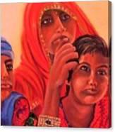 #hopeful In India Canvas Print