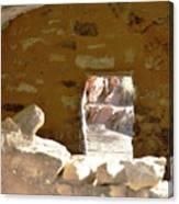 Hopi Door Canvas Print