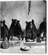 Hopi Grinding Grain, C1906 Canvas Print