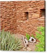 Hopi House Garden Canvas Print
