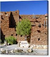 Hopi House Grand Canyon Arizona Canvas Print