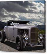 Hord Hot Rod Speedster Canvas Print