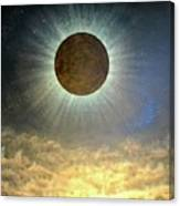 Hordes Of The Lunar Eclipse Canvas Print