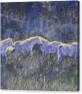 Horizonline Canvas Print