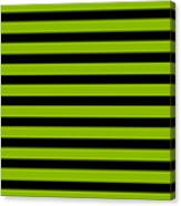 Horizontal Black Inside Stripes 09-p0169 Canvas Print