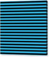 Horizontal Black Inside Stripes 18-p0169 Canvas Print