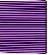 Horizontal Black Inside Stripes 30-p0169 Canvas Print