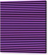 Horizontal Black Outside Stripes 30-p0169 Canvas Print