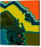 Horizontal Shape Ba Canvas Print