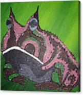 Horny Canvas Print