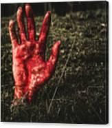 Horror Resurrection Canvas Print