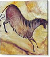Horse A La Altamira Canvas Print