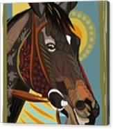 Horse Attitude Canvas Print