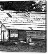 Horse Barn Now Canvas Print