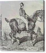 Horse Carriage Canvas Print