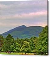 Horse Drawn Carriage At Muckross House Canvas Print