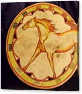 Horse Drum Canvas Print