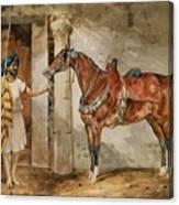 Horse Eastern Canvas Print