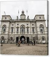 Horse Guards Canvas Print
