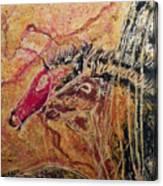 Horse Heads Canvas Print